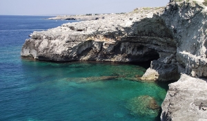 The western coastland of Salento peninsula (Lecce Province - Apulia)
