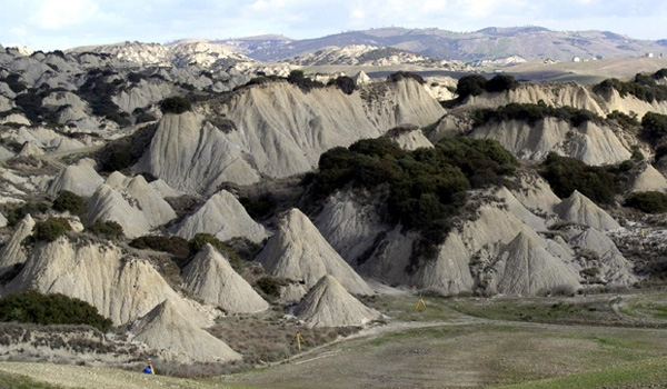 The Badlands (south Matera and Potenza Provinces - Basilicata)